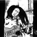 """Bob Marley"" by NateWilliams"