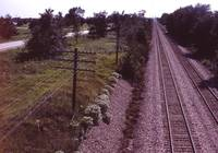 BNSF Railway Openwire Looking Towards Lincoln