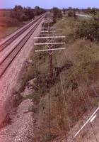 BNSF Signal Wires Near Greenwood, Nebraska, 1979.