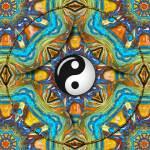 """Yin Yang Mandala_31"" by ravenswingstudio"