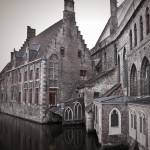 """Church on a Canal Bruge"" by LunarImage"