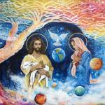 """""""Cloud Colored Christ Come"""" by ArtSamadhi"""