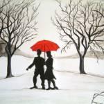 """Winter Romance"" by mkanvinde"