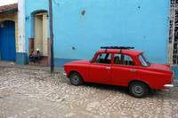 Red car @ Trinidad