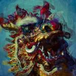 """Chinese Dancing Dragon Head"" by StefanOlivier"