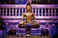 Golden Buddha at Wat Saket