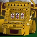 """""""Slots Punk Steampunk Machine"""" by Casino"""
