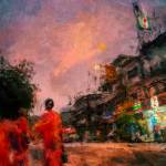 """""""Monks boys at sunset"""" by StefanOlivier"""
