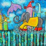 """Puddle Jumping"" by juliryan"