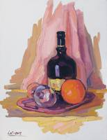 Still Life with Orange-II