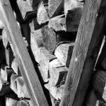 """Hallstatt - Woodpile"" by LefflerPhotography"
