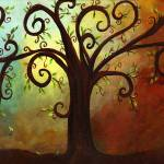 """Curly Branches Tree"" by creativemoods"