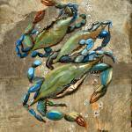 """Blue Crabs"" by creativemoods"