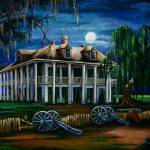 """Moonlit Plantation"" by creativemoods"