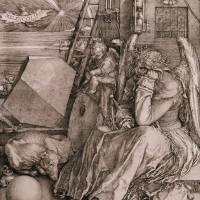 """Melancholia, 1513 (engraving) by Albrecht Durer"" by fineartmasters"