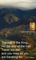 the trail is the thing