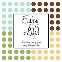 Enjoy Life Art Prints & Posters by Isabel M