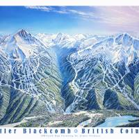 """Whistler Blackcomb"" by jamesniehuesmaps"