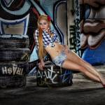"""Bethany with Tires"" by photoacumen"