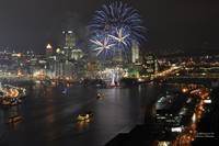 Fireworks over the Three Rivers
