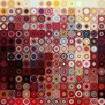 """Circles and Squares 11. Modern Decor Collection"" by MarkLawrence"