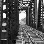 """Bridge on the Rio Grande"" by Mac"