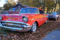 57 chevy leaves