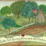 """Bless Our Country Home"" by tinibaybeez"