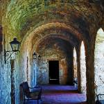 """Mission Concepcion Cloister"" by BrianKerls"