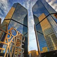 Denver World Trade Center Art Prints & Posters by Brian Kerls