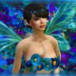 """""""Des Fleurs Bleu"""" by natenchanted"""