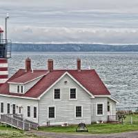 West Quoddy Head Lighthouse Art Prints & Posters by Richard Bean