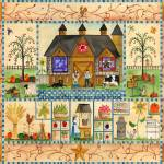 """Our Daly Bread Folk Art Sampler Original Design"" by Folkart"