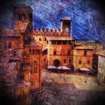 """Medieval square"" by rubicorno"