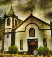Church in Lajes, Azores