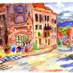 """noon in a tuscan village"" by arlene72"