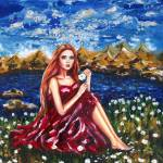 """""""Lucky Fortune Flowers"""" by ArtlbyYelena"""