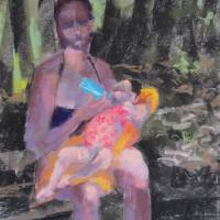 Mangrove Madonna Art Prints & Posters by Lynn Morgan