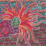 """Neon Dragon Landscape"" by PjCreates"