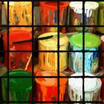 """""""Paint cans"""" by SarahannGraham"""