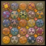 """""""Hyperbolicrochet Kaleidoscope Quilt"""" by AnnStretton"""
