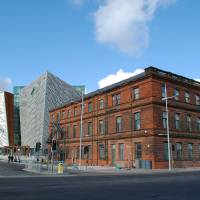 Old & New, Titanic Belfast Art Prints & Posters by Magie L