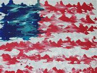 (abstract) american flag