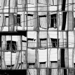 """Reflection of Buildings on Buildings in Belgrade"" by studiodestruct"