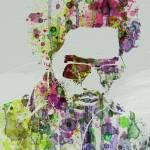 """""""Lenny Kravitz"""" by NAXART"""