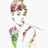Audrey Hepburn Art Prints & Posters by Andre Nax