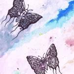 """""""Ojibwe Butterflies"""" by taibossigai"""