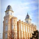 """Temple in Manti"" by Peay4Pics"