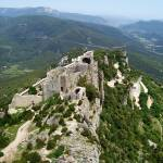 """Cathar Castle Peyrepertuse"" by marilyndunlap"
