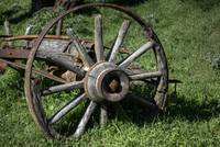 Old Plow Wheel